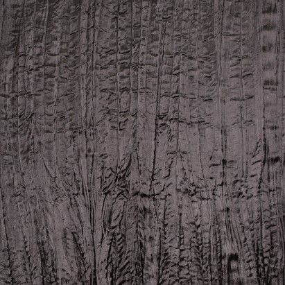 Black Rayon Crushed Velvet Fabric by the Yard | Mood Fabrics