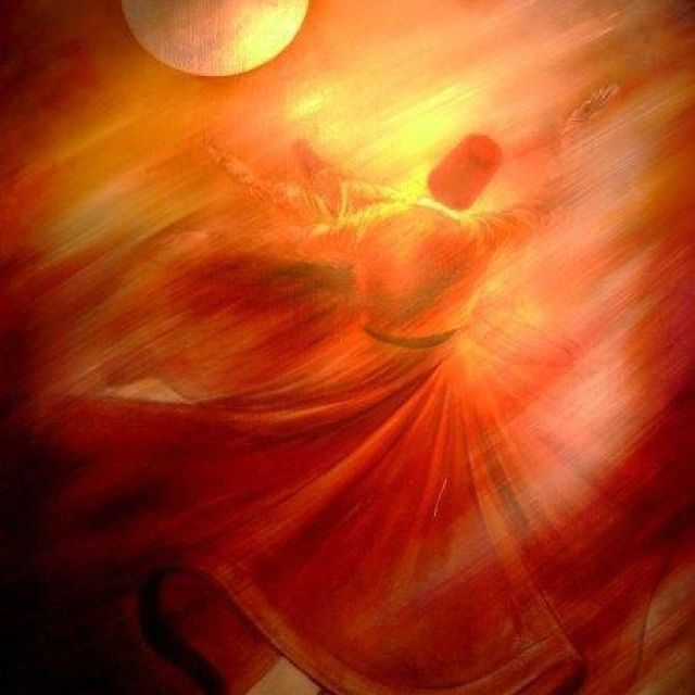 Swirling Dervish: Sufi school of cosmic connections