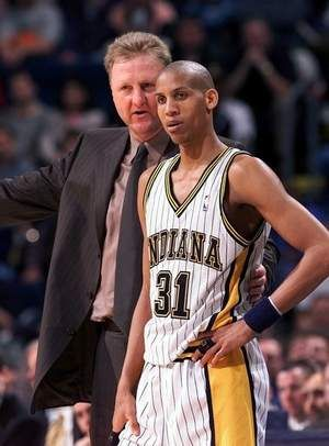 Reggie Miller's 'work ethic' top memory of Indiana Pacers president Larry Bird