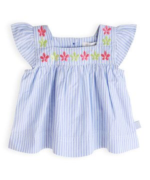 Another great find on #zulily! Miami Sky Smocked Top by Pumpkin Patch #zulilyfinds