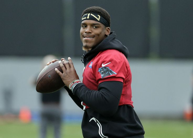 """Ron Rivera """"pretty excited"""" about Cam Newton's shoulder, weight"""