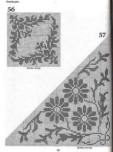 101 Filet Crochet Charts 38 | Flickr - Photo Sharing!