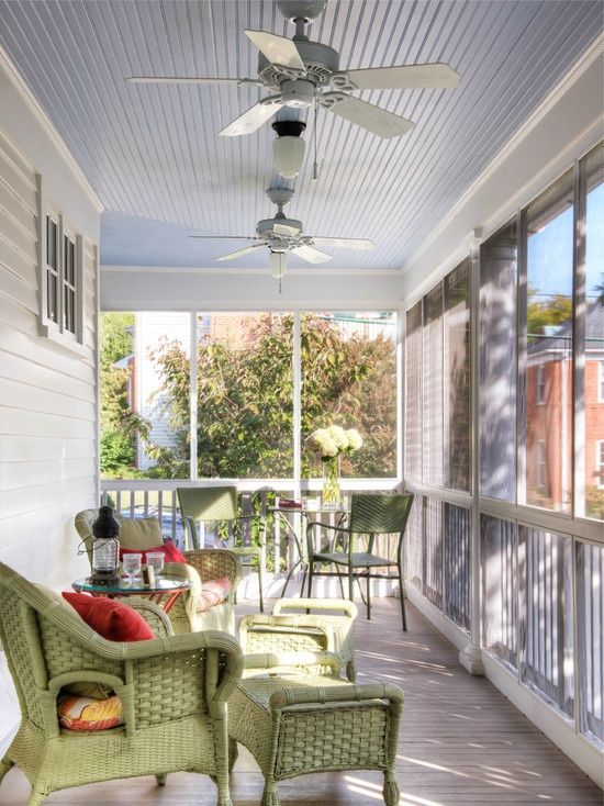 25 best ideas about enclosed porch decorating on for Small enclosed patio design ideas