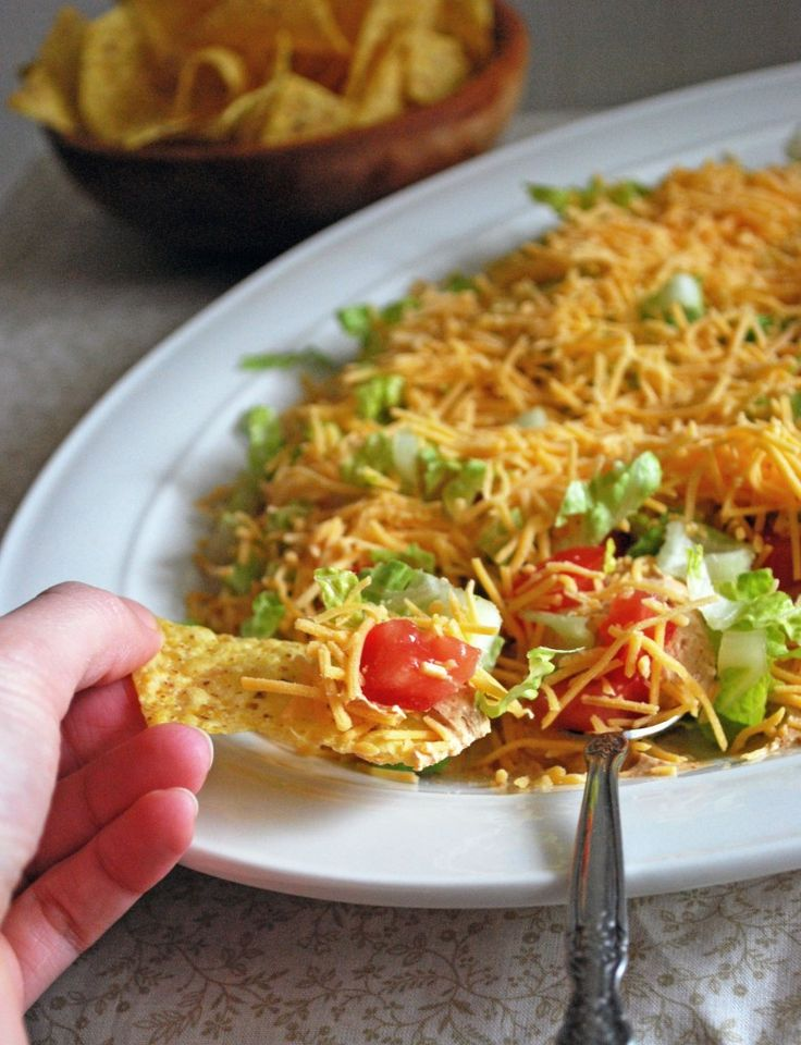 Taco dip recipes easy
