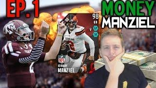 CAN WE SMASH 1000 LIKES FOR ANOTHER EPISODE TOMORROW??  ALL EPISODES OF MONEY MANZIEL: https://www.youtube.com/playlist?list=PLy3vfFdVcLqGyJ2UaX3sKc9VocU5kZuqc  Current Series Rules:  1 Upgrade per Johnny Manziel 100 Total Yards, 1 Upgrade per win, 1 Upgrade for every TD that is not scored by Manziel , 2 Upgrades for every Johnny Manziel Touchdown, 1 extra upgrade if opponent rage quits, 1 extra upgrade per every milestone reached (avoid relegation, clinch playoff spot, etc.), 2 upgrades per…