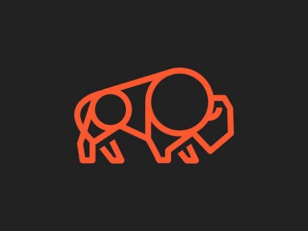 Buffalo 2 Monoline Logo