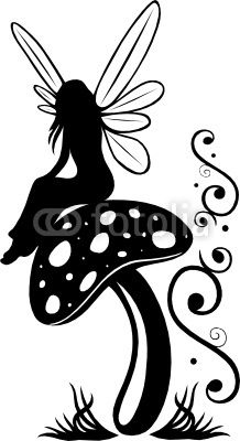Fee Elfe Pilz Fliegenpilz Flora Blumen Wiese Zauber