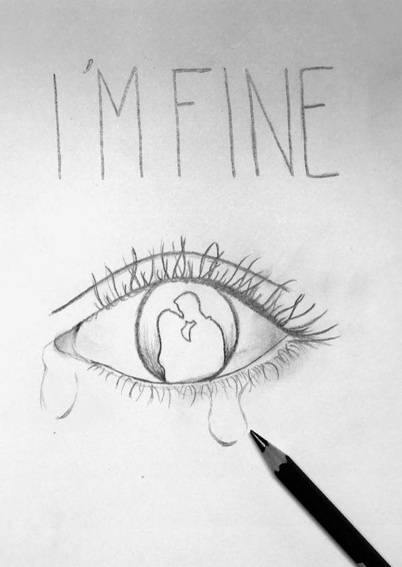 f32a31fd90848df10217c4126f1a06ad » Depression Drawings Easy Step By Step