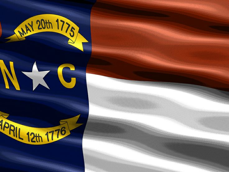 the state flag of north carolina