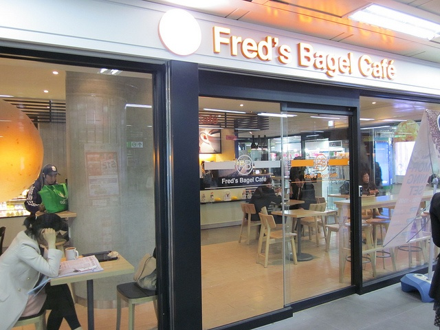 Fred's Bagel Cafe by Fai C, via Flickr