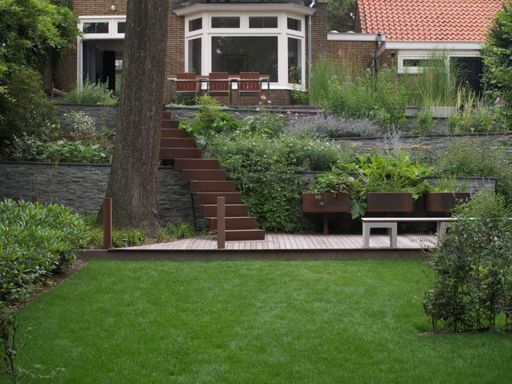 hendriks hoveniers in arnhem nl find this pin and more on earthy contemporary garden design