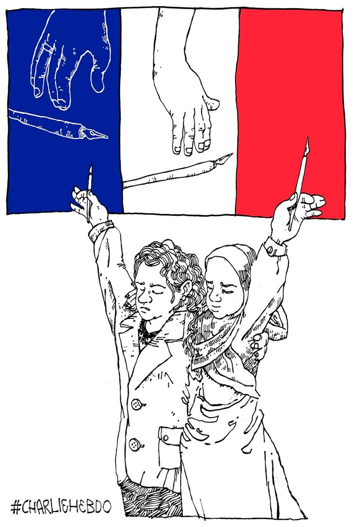It shook me when I heard of the brutal massacre in Paris yesterday. And the shook took extra long because I draw pictures too. Freedom of speech is a right to fight for, not fight against. And so is freedom of religion. It cannot be sold, nor negotiated. There is a place for satire too, but Charlie has crossed more than one line in my book.  #CharlieHebdo