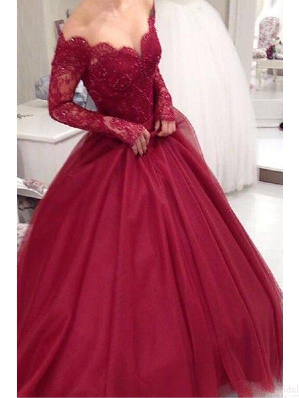 Long Poofy Prom Dresses