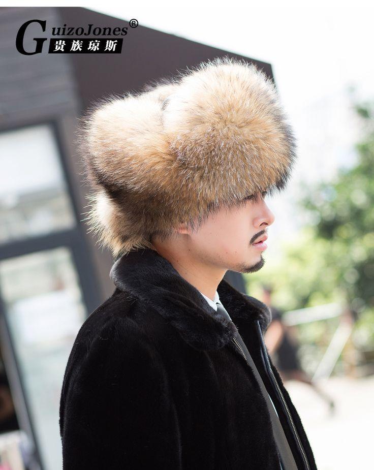 Aliexpress.com :  Top qualität große waschbären pelzmütze großen ohr pelzmütze herren leder schneekappe fashion Bomber Hats von verlässlichen kappe gott-Lieferanten auf Ebuy Mall kaufen