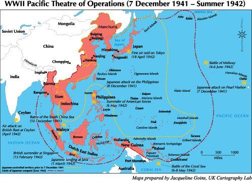 War power in world Asian axis