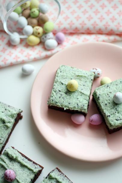 Pääsiäisen suklaamuna-browniet   Maku