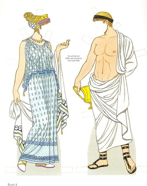 Ancient Greece | Gabi's Paper Dolls