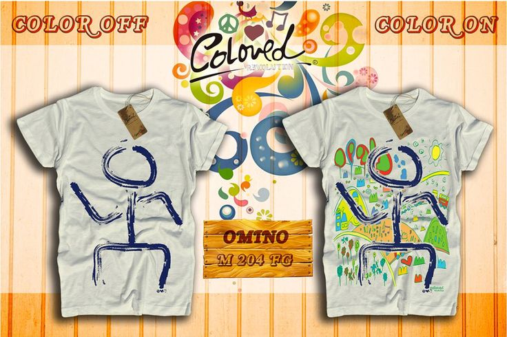 New Items! SS2015 Collection!  #omino #coloron #color #tshirt