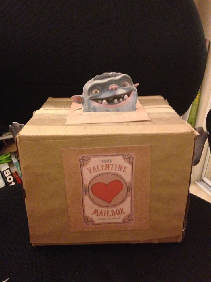 Box Trolls Valentine Box Things I Made Pinterest
