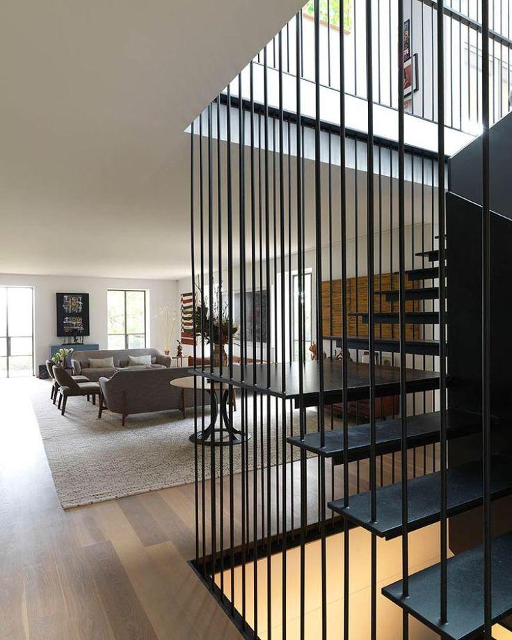Cate Blanchett's Sydney Home Living Area
