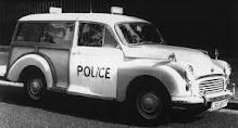 Morris Minor Traveller Police car :)