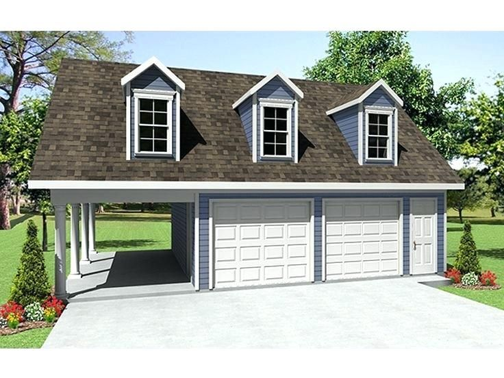 24 C3 9730 Garage With Loft Garage Plan With Carport 24 C3 9730 Garage With Loft Plans Garage Plans With Loft Garage Plans Detached Garage House Plans