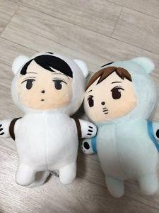 "Exo Doll Kai SE Hun Doll ""Polar Nini"" ""Polar Seni"" Korean Fanmade Plush Doll   eBay"