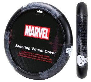 The Punisher Car Accessories Steering Wheel Cover