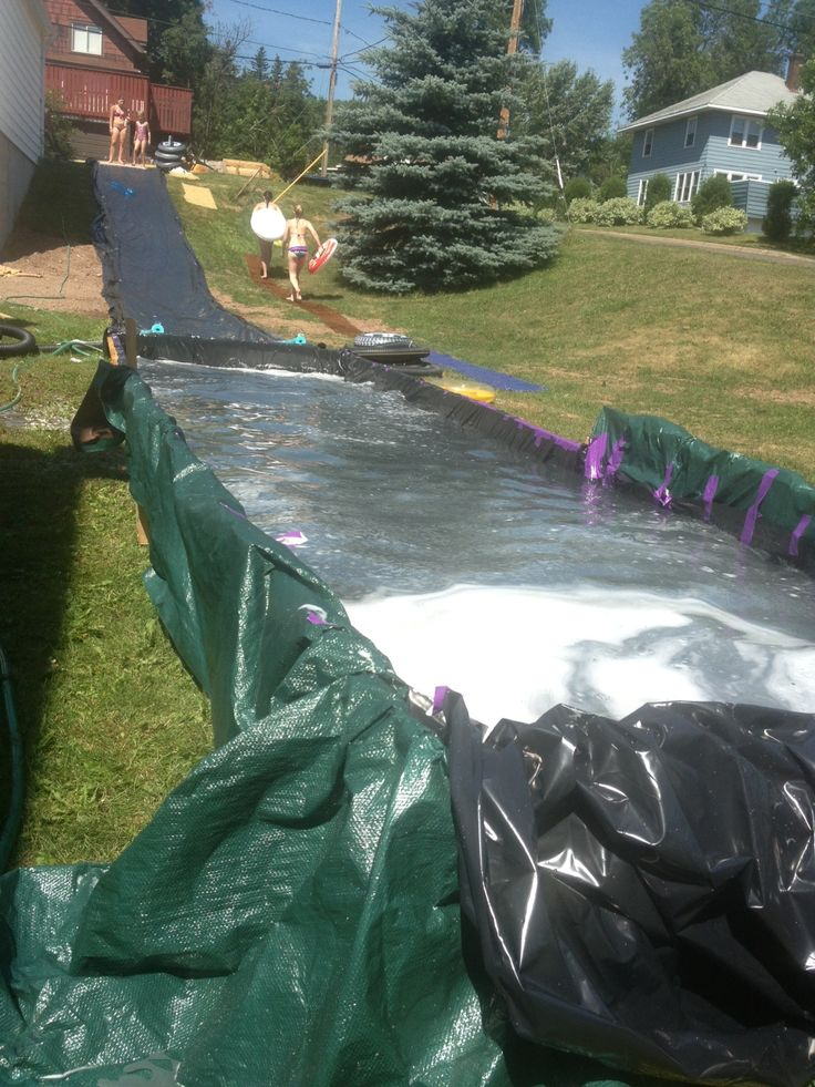 homemade slip and slide greatest fun of the summer jessica lim look at this
