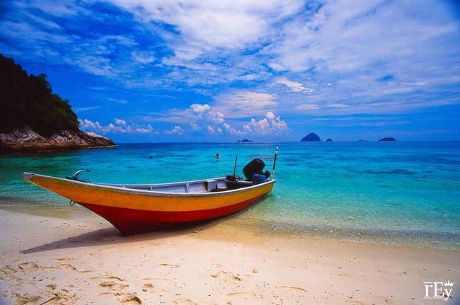 Beach in Kuala Besut, Terengganu, Malaysia