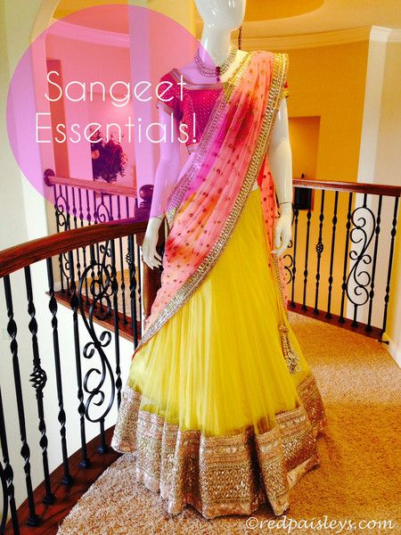 What To Wear To A #Sangeet! | Red Paisleys #anarkali #wedding #desibride #bride #indianwedding
