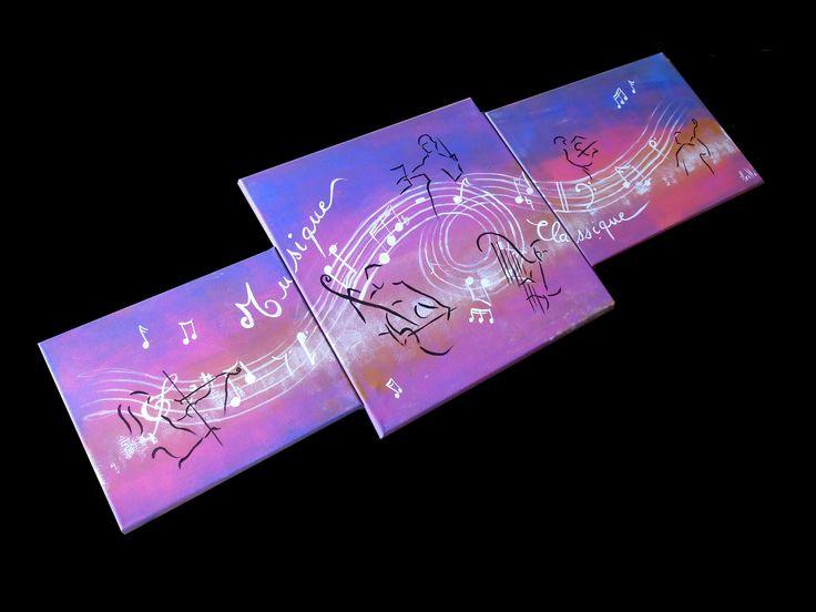 ... musique classique - peintures-axelle-bosler  Déco, Musique et