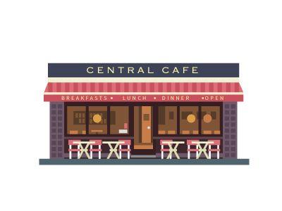 Cafe by Beresnev