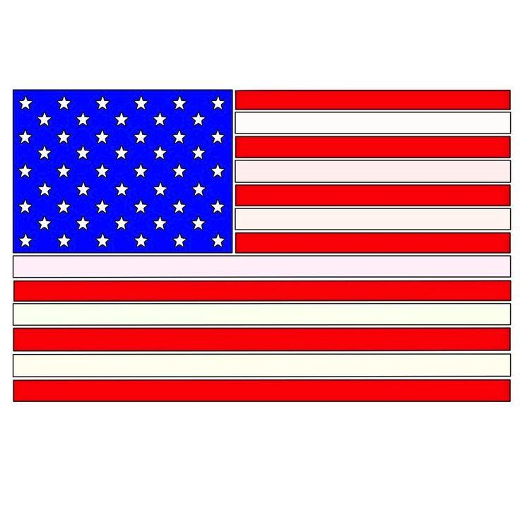 American Flag SVG File Download