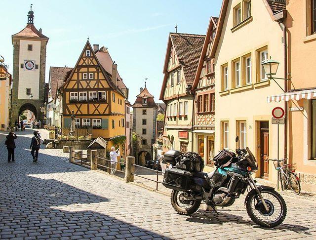 Rothenburg Ob Der Tauber Germany Europeantouringroute Motorbikeeurope Europeantouringroute Motorbikeeurope Fahrradtour Bad Mergentheim Nationalpark