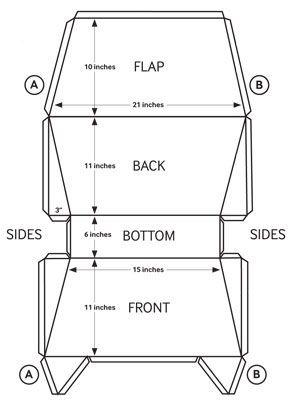 cooler Craft Corner – DIY Messenger Bag                                                                                                                                                                                 More