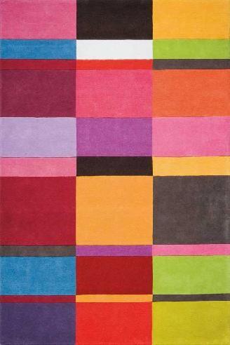 Multicolour carpet http://www.vloerkledenwinkel.nl/category/Modern-vloerkleed/product/Karpet-Ligne-Pure-Love-181.003.990
