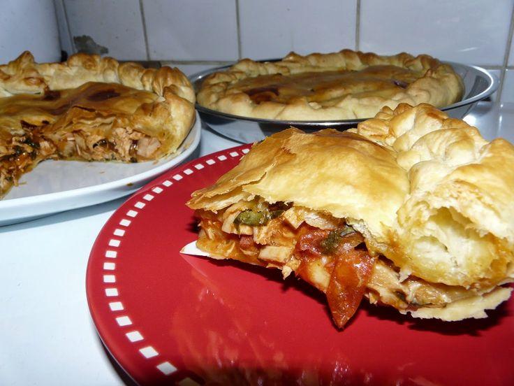 Recettes d'une mère de famille nombreuse: Empadinha brésilienne (tourte au poulet)