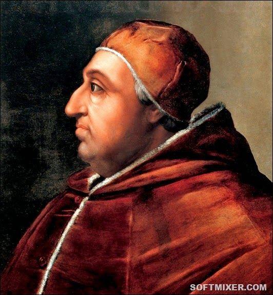Папа римский Александр VI,Родри́го Бóрджиа(1.01.1431г.,Хатива,Кор.Арагон-18 08.1503г.,Рим)-2ой папа римский из исп. рода Борджиа(Борха) с 11.08.1492г.Значит. расширил пределы контрол.папой терр-рий Папской обл.,превратив ее в централиз. гос-во.За время его понтификата было назначено 47 новых кардиналов,и зачастую назнач.имели политич. подоплеку.Его сын Чезаре стал кардиналом в 18 лет,Алессандро Фарнезе -брат папской любовн.Джулии-в 25 лет.