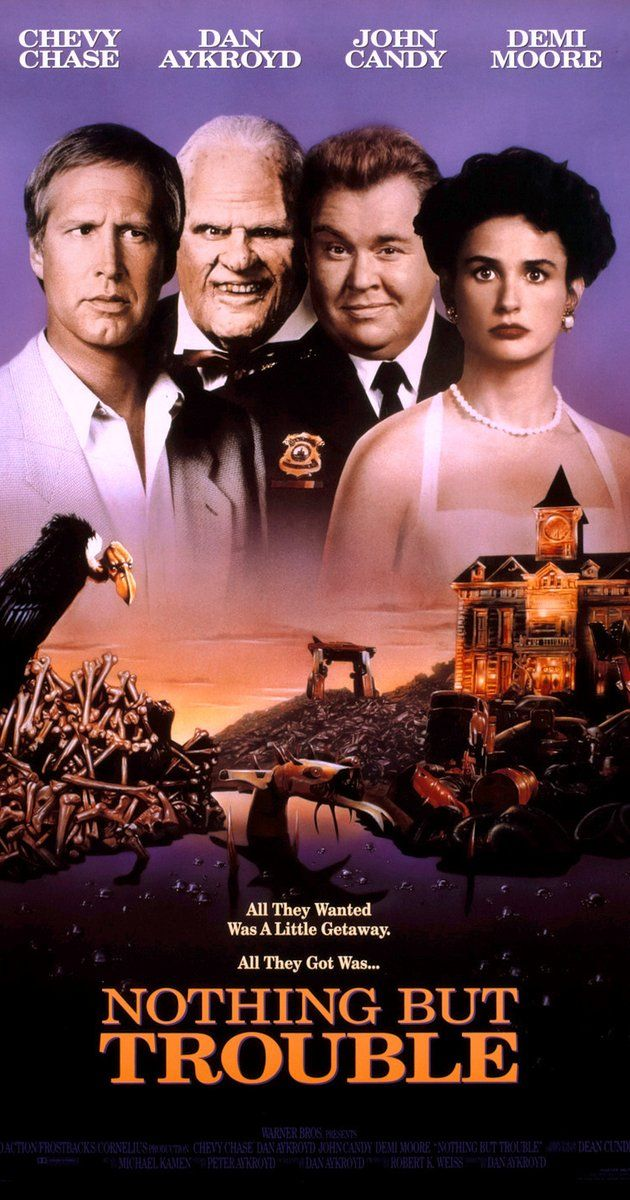 Nothing But Trouble (1991) been trying to find the movie for awhile now and finally found it!
