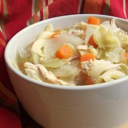Chicken and Cabbage Soup: Diabetes Friendly and 81 calories per serving