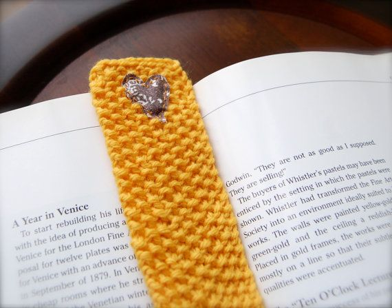 Outstanding Knitted Bookmark Pattern Adornment Easy Scarf Knitting