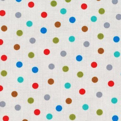 Material - Bungle Jungle Dot Grey