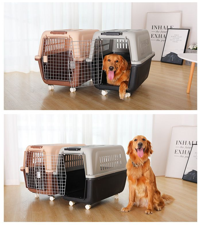 Pet Air Box Cat Dog Dog Portable Out Cat Cage Empty Transport Check Box Travel Car Car Dog Cage Dog Cages Cat Cages Pet Supplies Wholesale