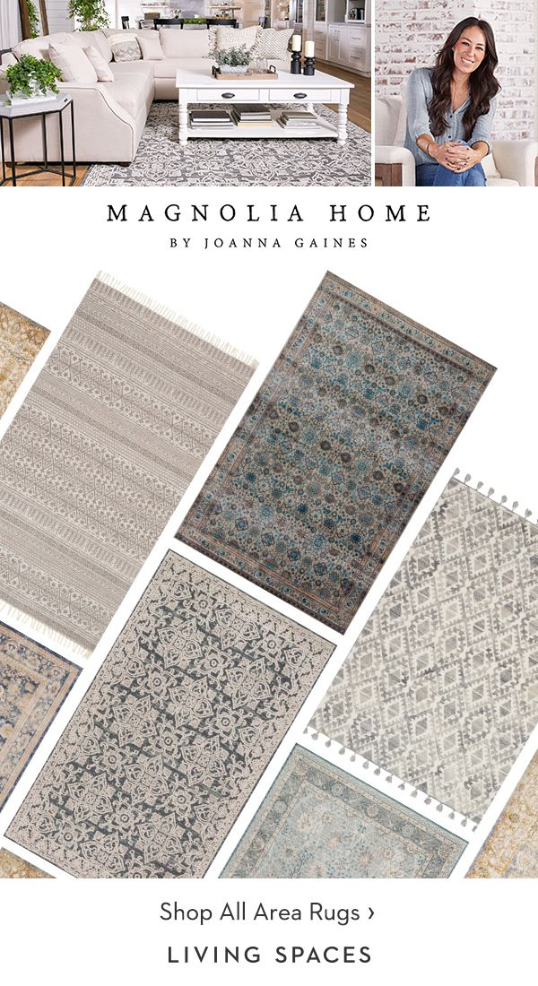 Neutral Area Rugs From Magnolia Home By Joanna Gaines Discover Unique Rug Patterns In Tones T Farmhouse Rugs Living Room Area Room Rugs Living Room Area Rugs