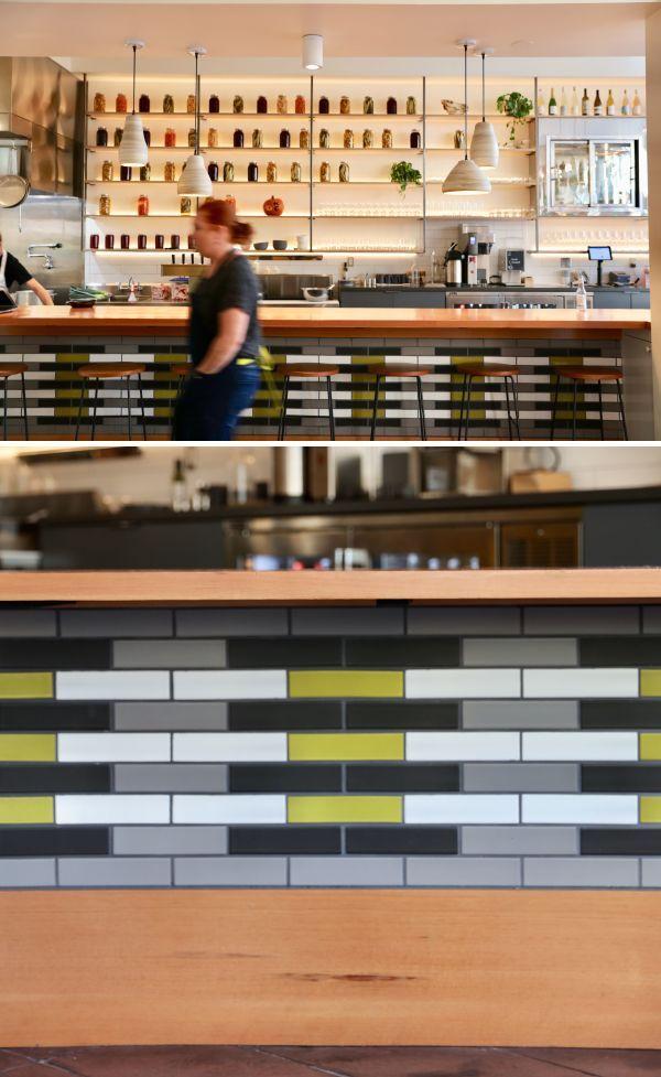 Custom Tile Pattern By Studio Kda At Maker S Common University Avenue Berkeley Ca