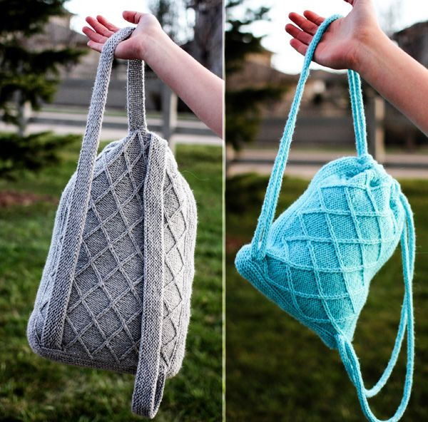 Knit Backpack Pattern Image Collections Knitting Patterns Free