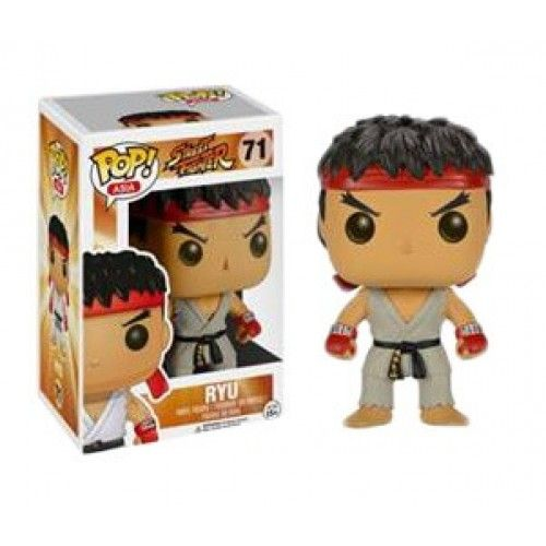 Funko Ryu (First to Market), Street Fighter, Pop! Asia, SF, Games, Funkomania