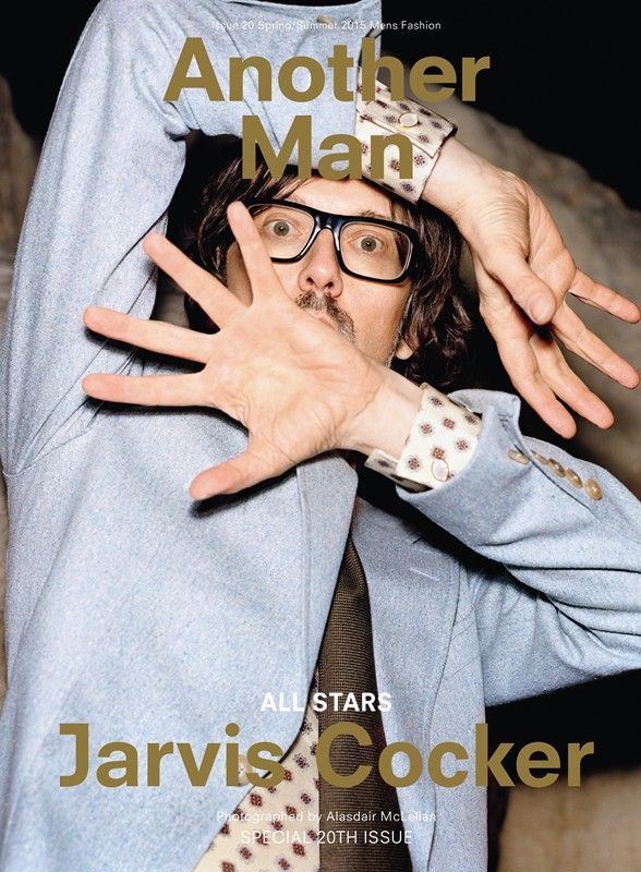Jarvis Cocker for Another Man S/S15. Photography by Alasdair McLellan, Styling by Alister Mackie