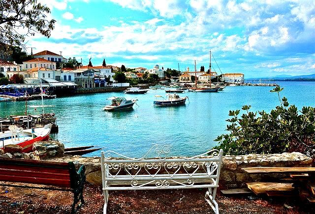 GREECE CHANNEL |  #Spetses Old Port